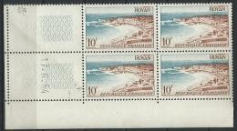 """Coins Datés YT 978 """" Royan """" Neuf** Du 17.6.54 - 1950-1959"""