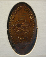 1 CENT Festival By The Sea   Elongated Coins  Pennies USA - Elongated Coins