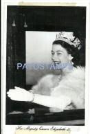 24229 ROYALTY UK MAJESTIC QUEEN ELIZABETH II SPOTTED POSTCARD - Familles Royales