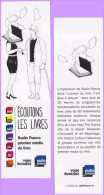 Marque-page °° Radio France Premier Média - Ecoutons Les Livres  6x21 - Marcapáginas