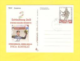 Postcard - Croatia, Ski, Winter Sport, Ivica Kostelić      (V 27817) - Croazia