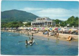 O279 San Felice Circeo (Latina) - Spiaggia Di Levante E Hotel Neanderthal / Viaggiata 1966 - Italia