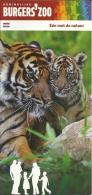 Nederland Arnhem Burgers' Zoo / Tigre Tijger Tiger - Dépliants Touristiques