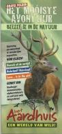 Nederland Hoog Soeren Het Aardhuis / Cerf Hert Deer - Dépliants Touristiques