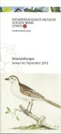 Lemgo Lippe Weserrenaissance-Museum Schloss Brake / Oiseau Vogel Bird - Dépliants Touristiques
