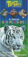 France Romanèche-Thorins Touro Parc / Tigre Tijger Tiger Hippopotame Nijlpaard Hippopotamus - Dépliants Touristiques