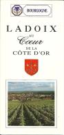 France Bourgogne Ladoix Chevalier - Dépliants Touristiques
