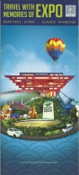 China Shangai Memories Of Expo / Montgolfière Luchtballon Air Balloon - Dépliants Touristiques