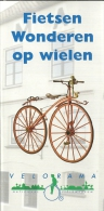 Nederland Nijmegen Nationaal Fietsmuseum Velorama / Vélo Fiets Bicycle - Dépliants Touristiques