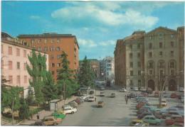 O286 Campobasso - Piazza Savoia E Via Principe Di Piemonte - Auto Cars Voitures / Viaggiata - Campobasso
