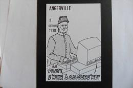 Carte Postale :La Poste D'hier à Aujourd'hui  8 Octobre 1988 - Poste & Facteurs