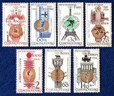 CSSR 1965 Mi. 1522 -28 Postfrisch MNH** - Cecoslovacchia