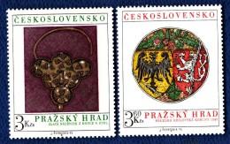 CSSR 1975 Mi. 2291 -92 Postfrisch MNH** - Cecoslovacchia