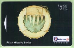 Fiji - 1998 Artifacts - $5 Breastplate - FIJ-116 - VFU - Fidschi