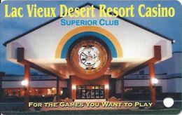 Lac Vieux Desert Casino Watersmeet MI 2nd Issue Slot Card  (BLANK) - Casino Cards