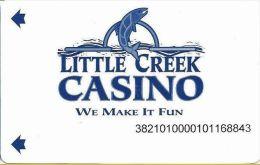 Little Creek Casino Shelton WA Slot Card - Casino Cards