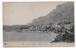 MONTE CARLO - N° 1604 - VUE GENERALE - CPA NON VOYAGEE - Monte-Carlo