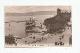 G-I-E , Bateaux , 74 , EVIAN , Le Port , Vierge - Commerce