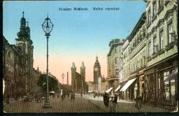 Hradec Kralove, Velke Namest, 27.12.1915, Königgrätz, K.u.k. Permanenter Krankenzug No, 22 - Tchéquie