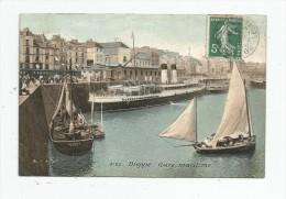 G-I-E , Bateaux , 76 , DIEPPE , Gare Maritime , Voiliers , Paquebot , Voyagée - Voiliers