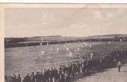 22972 GUERRE 1914 -Ohrdruf - Prisonnier Guerre Militaire Peltier - Kriegsgefangene Fussballspiel Football