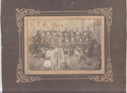 Photo Orchestre Fanfare Musique Militaire 23e Regiment D´infanterie -classes 1906-1907 - Noel Employé Gare Beslé 44 Fran
