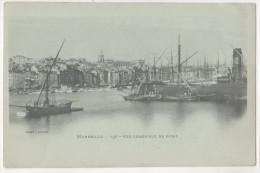 CP MARSEILLE VUE GENERAL VIEUX PORT (13 B Du R) Animée Bateaux  Barques Voiliers - Vieux Port, Saint Victor, Le Panier