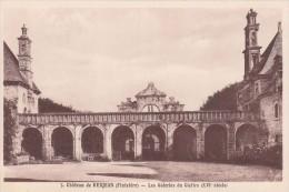Cp , 29 , SAINT-VOUGAY , Château De Kerjean , Les Galeries Du Cloître (XVIe S.) - Saint-Vougay
