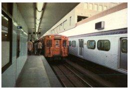 (222) Canada - Toronto Subway Train - U-Bahnen