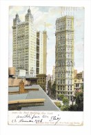 CP  ST PAUL BUILDING, NEW YORK (écrite En Novembre 1906 - New York City