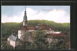 AK Weesenstein, Blick Zum Schloss - Weesenstein A. D. Mueglitz