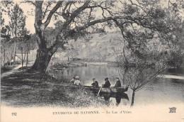 CPA 64 ENV.BAYONNE LE LAC D'YRIEU - Other Municipalities