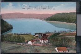 Chalain - Chateau Et Lac Du Chalain - Jura - Otros Municipios