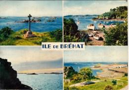 22 - île De Bréhat - La Croix Des Veuves - Le Port-Clos - Coucher De Soleil - L'Embarcadère. 1976 - Ile De Bréhat