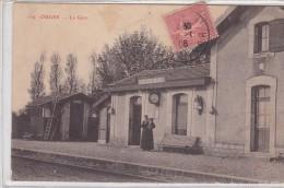 Ouges - La Gare - France