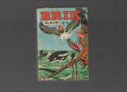 BRIK.album N°14 Avec Les N°53, 54,55,56 - Boeken, Tijdschriften, Stripverhalen