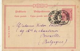 Carte Postale Munster Am Stein Bruxelles - Germania