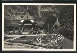 CPA Interlaken, Des Fleursuhr Et Kursaal - Astronomía