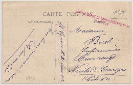 ST IGNACE Cote D'Or, HOPITAL DEPOT DE CONVALESCENTS N° 81. - Guerre De 1914-18