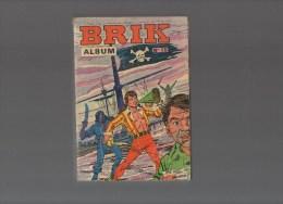BRIK.album N°15 Avec Les N°57,58,59,60 - Boeken, Tijdschriften, Stripverhalen