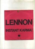 - JOHN LENNON .INSTANT KARMA . 45 T. - Rock