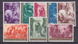 Rwanda 1967 Paintings 6v ** Mnh (26435) - Rwanda