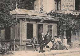 RARE ANGERS, Maine Et Loire, HOP BENEVOLE N° 5Bis, TRAMWAYS ELECTRIQUE, Erigné. TB CARTE Animée. - Marcophilie (Lettres)