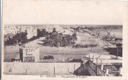 Aw - Cpa Tunisie - SOUSSE - Vue Partielle Et Le Port - Tunisia