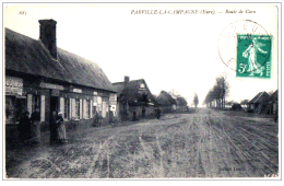 Parville La Campagne Eure Tabac Metayer Pub Dubonnet Garage 1910 état Très Bon - Francia