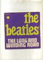 - THE BEATLES . THE LONG AND WINDING ROAD . 45 T. - Rock