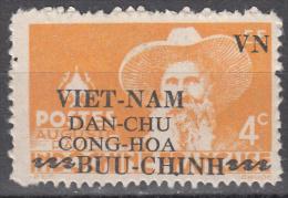 Viet Nam--north    Scott No 1L 11    Unused Hinged    Year  1945    Very Scarce !! - Vietnam