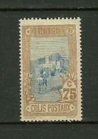 TUNISIE  1906     N° 7    Colis Postaux         Neuf  Avec Trace De Charnière - Tunisie (1888-1955)