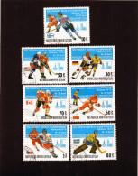 1979 Mongolia - Campionato Mondiale A Mosca - Hockey (su Ghiaccio)