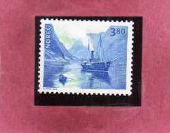 NORWAY NORGE NORVEGIA NORVEGE 1998 Coastal Shipping MAIL BOAT  3.80K 3.80 KROWN MNH - Nuovi